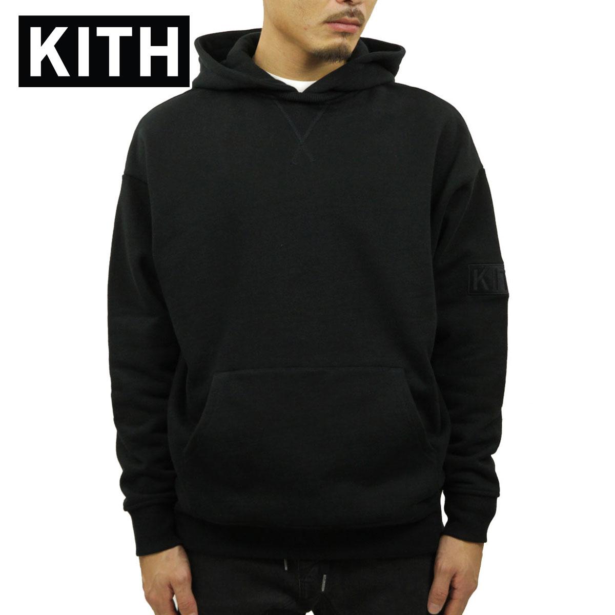 キス パーカー メンズ 正規品 KITH プルオーバーパーカー KITH WILLIAMS II HOODIE KH2221-100 BLACK