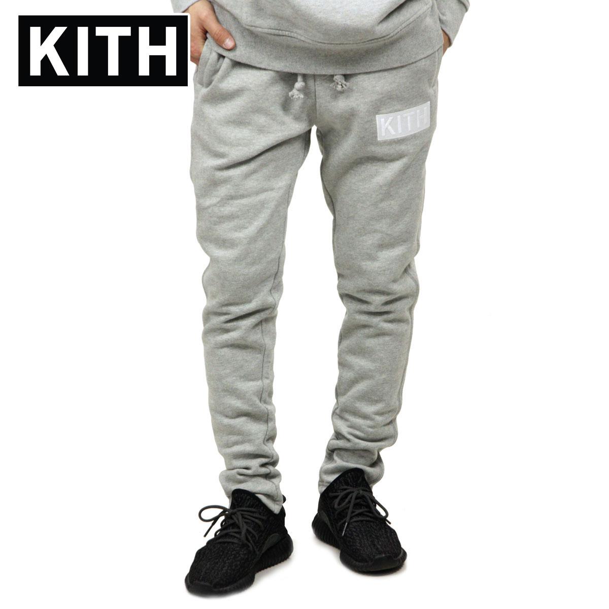 キス KITH 正規品 メンズ スウェットパンツ KITH WILLIAMS II SWEATPANT KH6160-103 BLACK