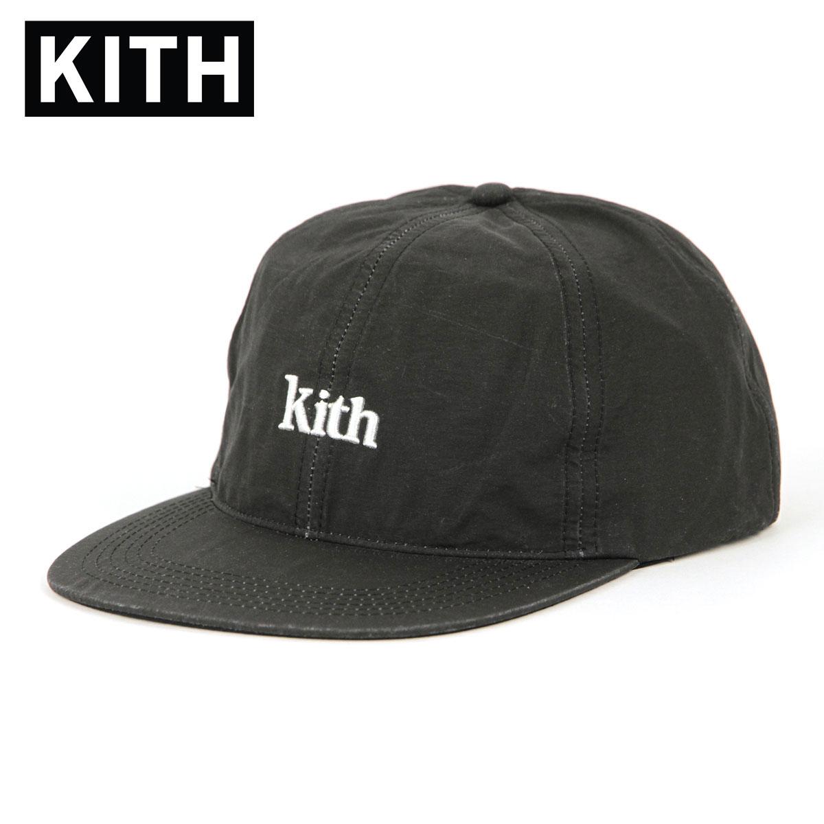 キス キャップ メンズ 正規品 KITH 帽子 KITH SWIM CAP KH5715-100 BLACK 父の日