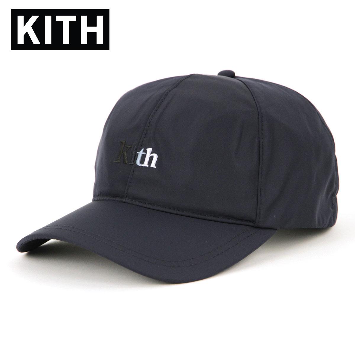 キス キャップ メンズ 正規品 KITH 帽子 KITH ELASTIC 6-PANEL CAP KH5722-102 NAVY 父の日