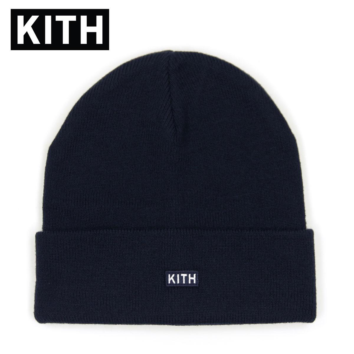 キス キャップ メンズ レディース 正規品 KITH 帽子 ビーニー ニットキャップ KITH CLASSIC DOCK BEANIE KH5738-102 NAVY 父の日