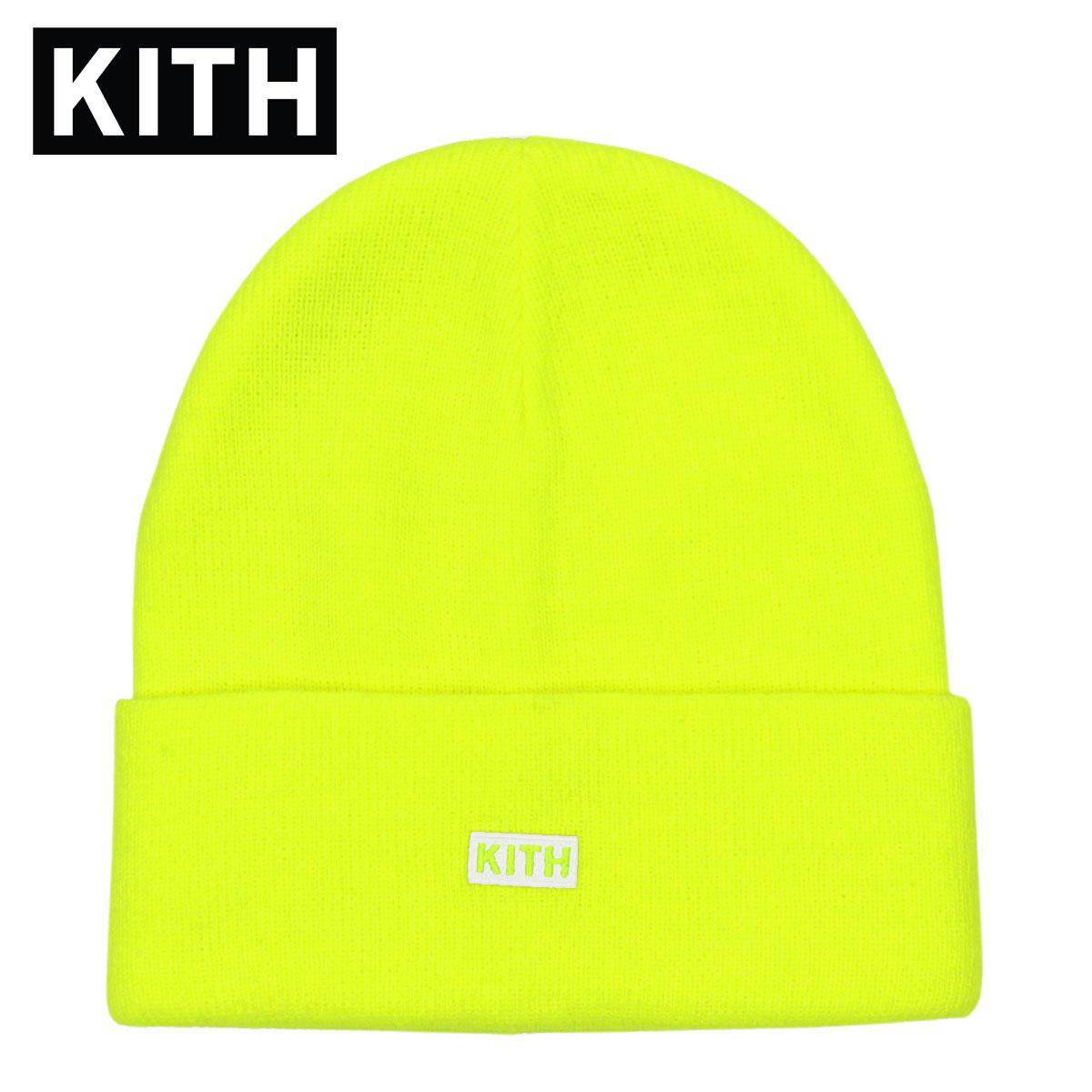 キス キャップ メンズ レディース 正規品 KITH 帽子 ビーニー ニットキャップ KITH CLASSIC DOCK BEANIE KH5031-112 CITRON 父の日
