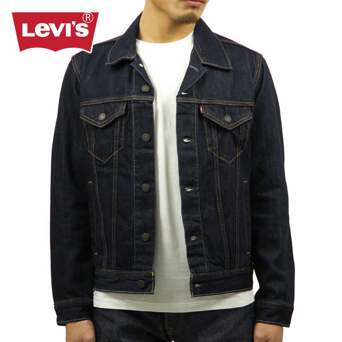 リーバイス LEVI'S LEVIS 正規品 メンズ アウタージャケット LEVI'S Denim Jacket Trucker Rinse 72334-0134 14.5oz
