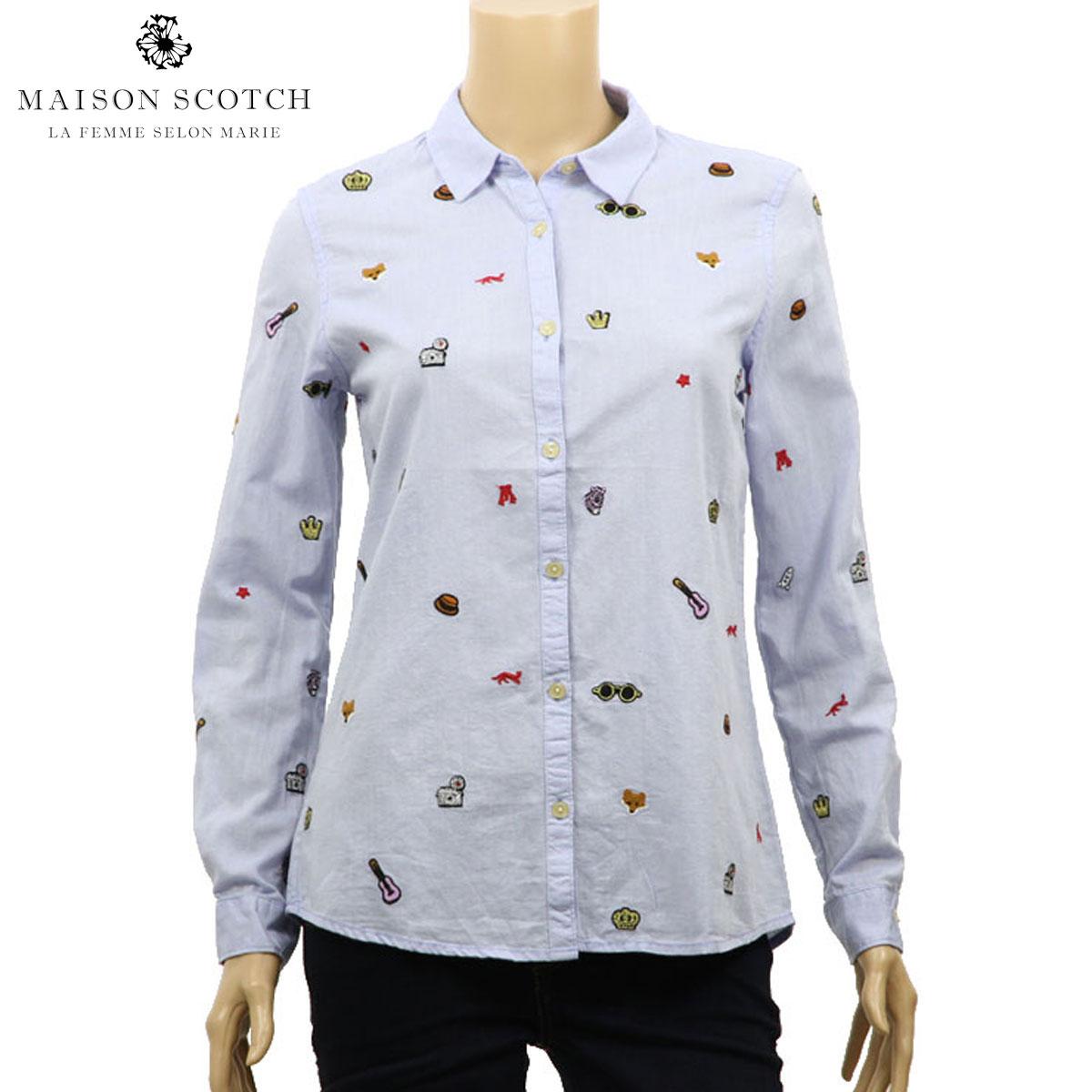 メゾンスコッチ MAISON SCOTCH 正規販売店 レディース シャツ Dress shirt 132484 20 D00S20