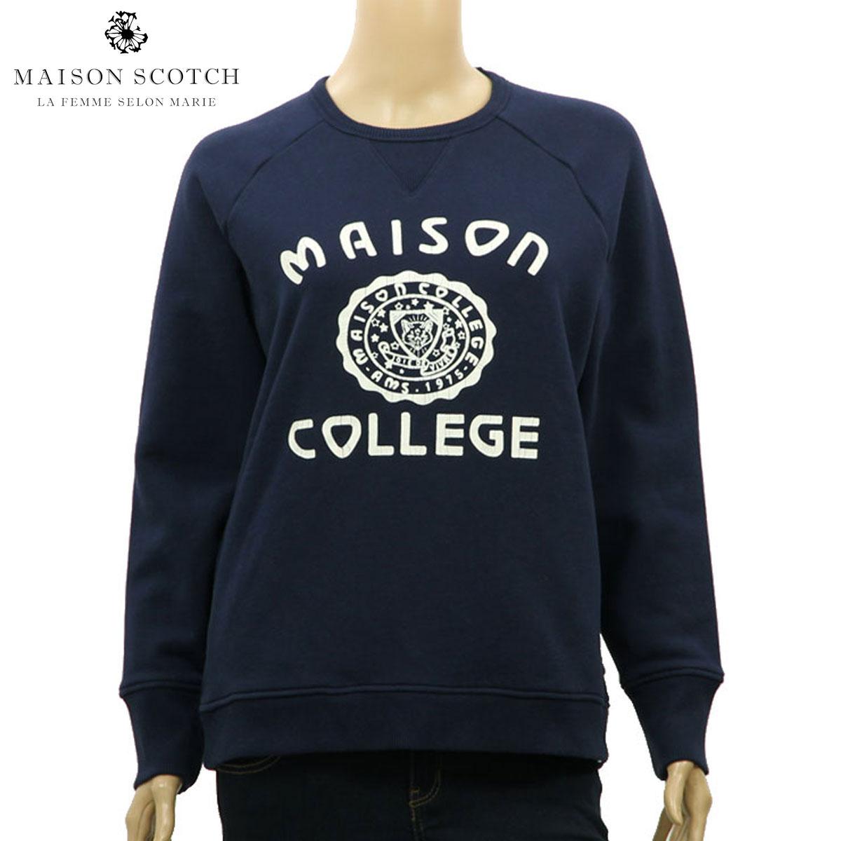 メゾンスコッチ MAISON SCOTCH 正規販売店 レディース フリース Sweat fleece 102099 04 D00S20