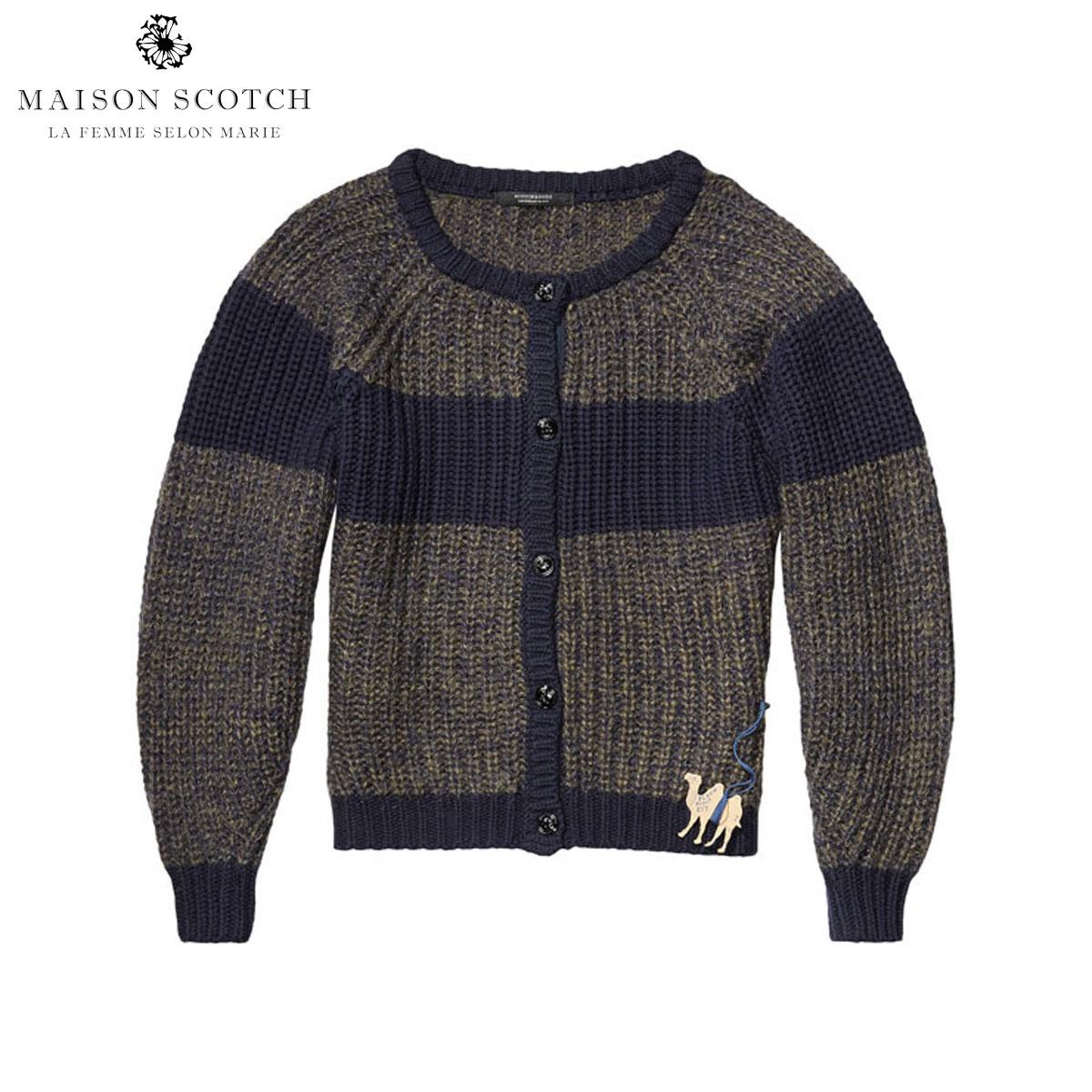 メゾンスコッチ MAISON SCOTCH 正規販売店 レディース カーディガン Boxy fit cardigan with shaped sleeves. 134103 6B D00S20