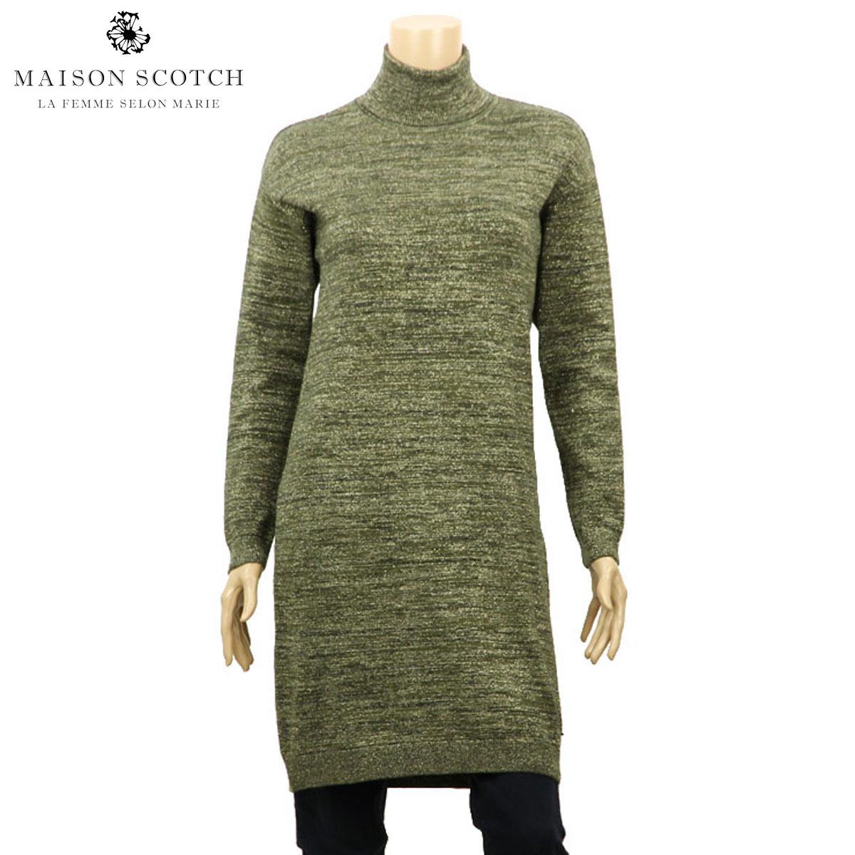 メゾンスコッチ MAISON SCOTCH 正規販売店 レディース ドレス High neck straight fit dress 134178 17 D00S20