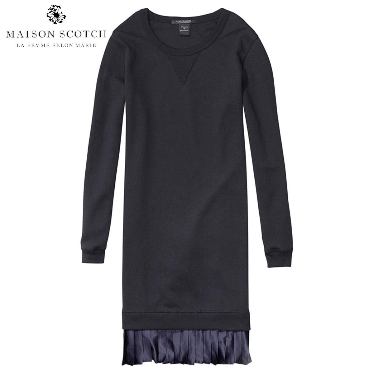 メゾンスコッチ MAISON SCOTCH 正規販売店 レディース ドレス straight fit dress 134125 08