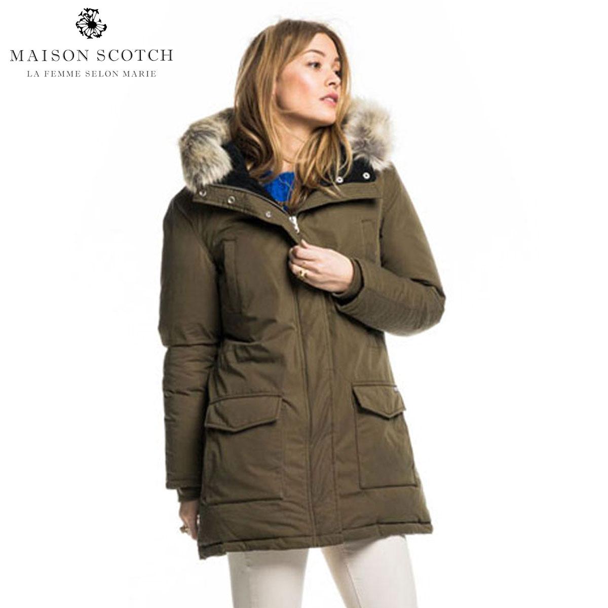 メゾンスコッチ MAISON SCOTCH 正規販売店 レディース ジャケット Long boa jacket 101893 15 D00S20