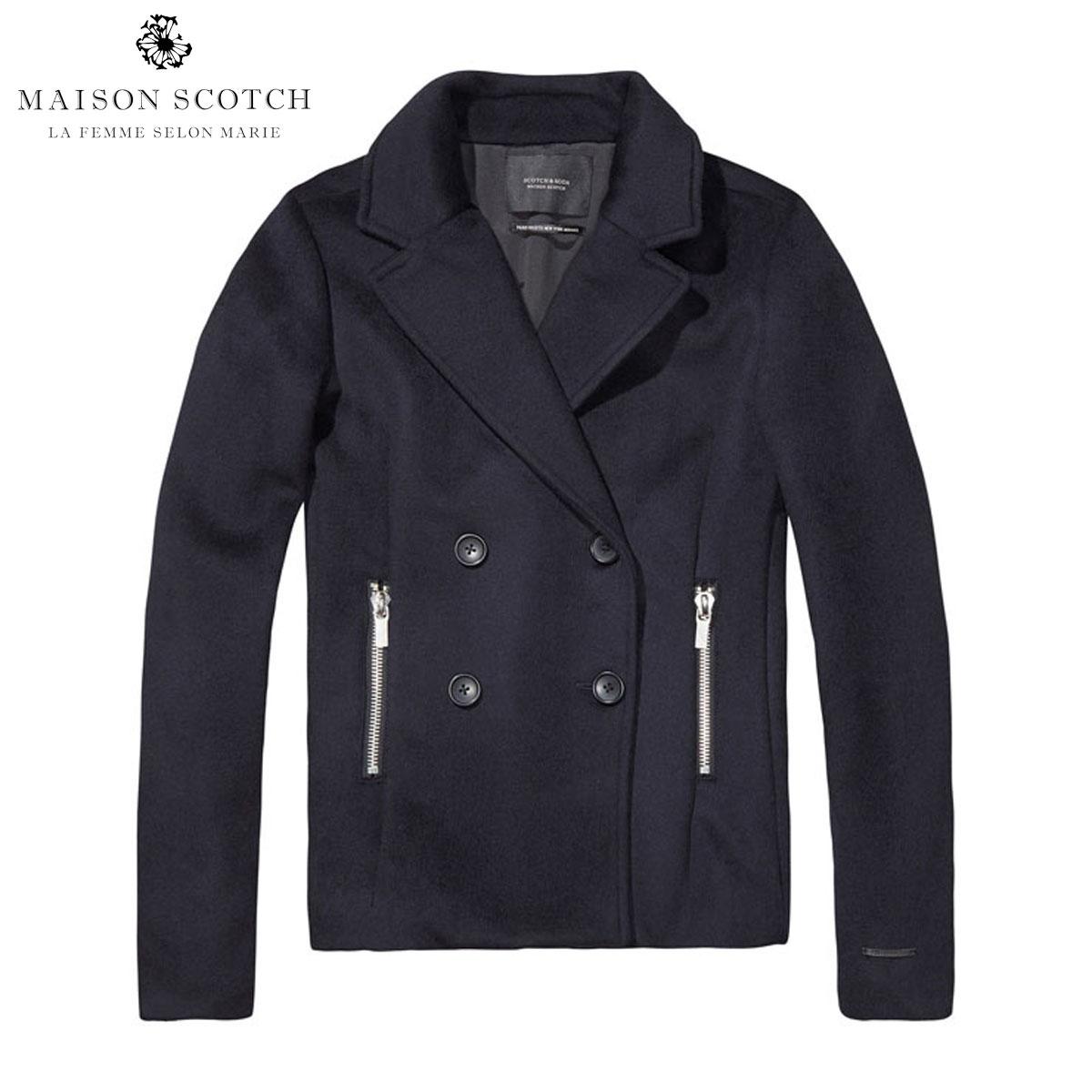 メゾンスコッチ MAISON SCOTCH 正規販売店 レディース アウターコート Short pea coat 101902 04