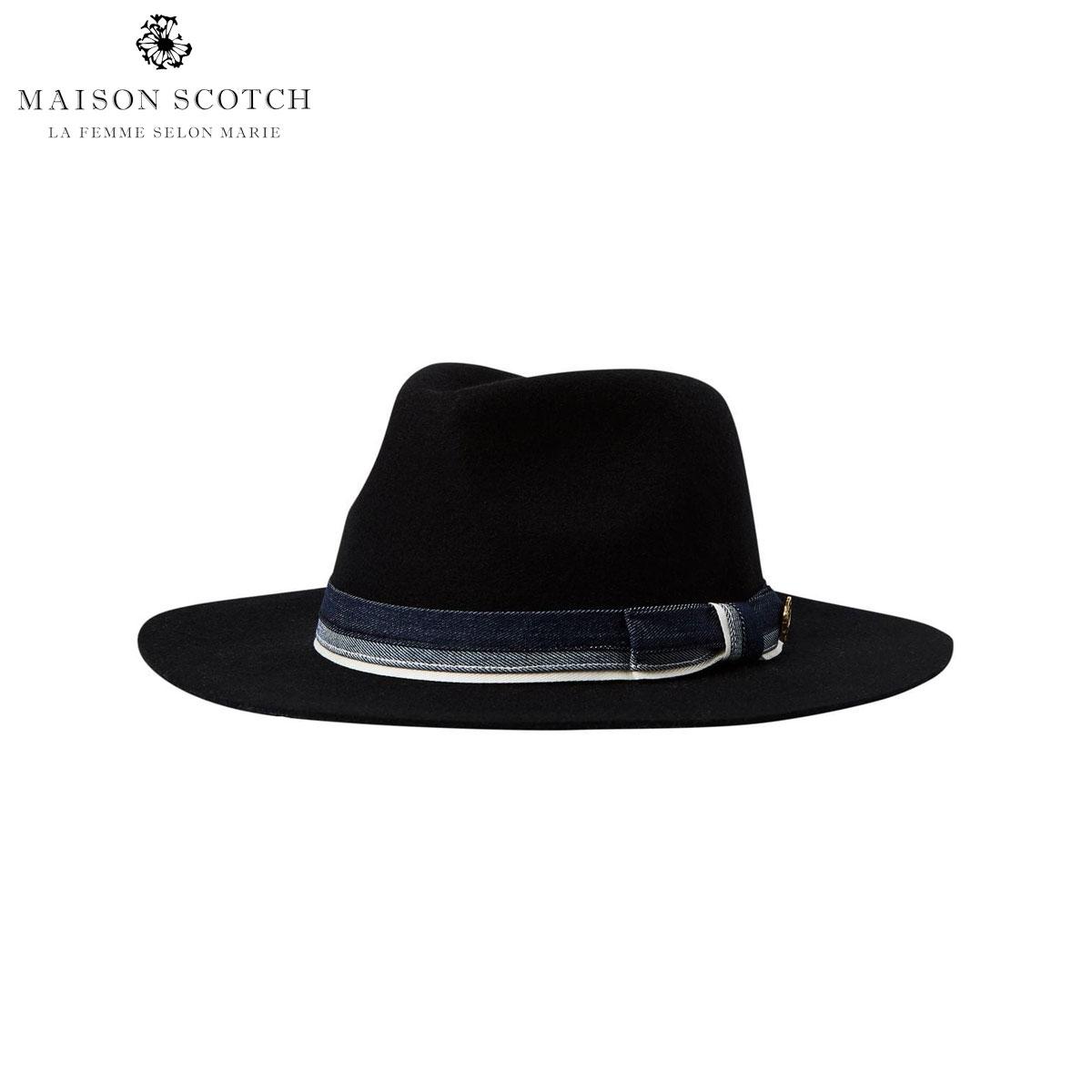 メゾンスコッチ MAISON SCOTCH 正規販売店 レディース ハット 帽子 FELTED FEDORA HAT IN DIFFERENT COLORS 144656 90 68803 COMBO A D