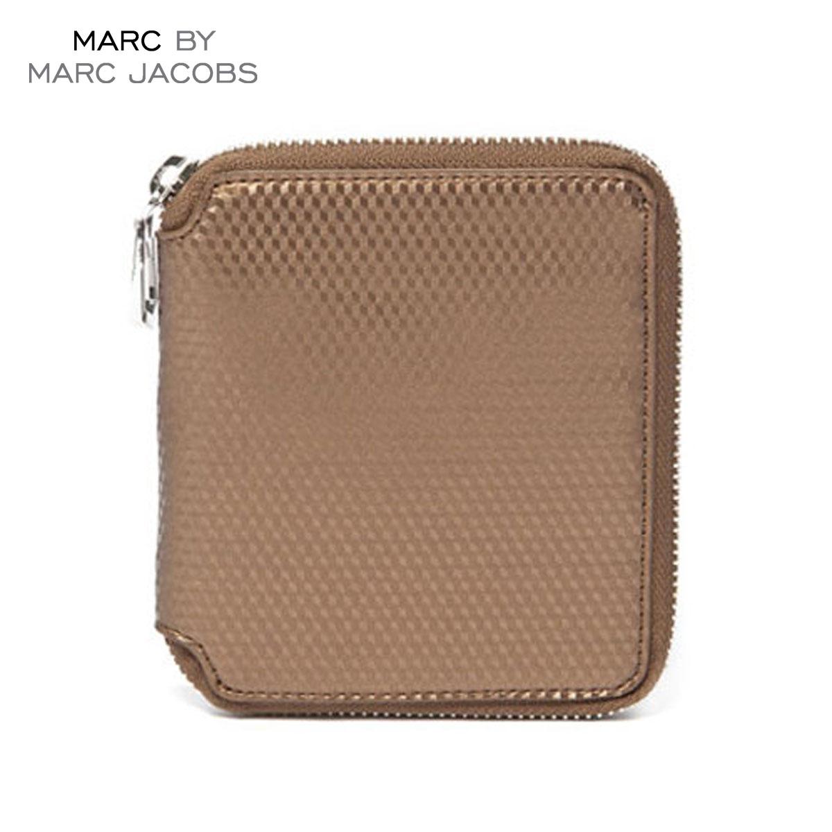 【販売期間 4/2 10:00~4/8 09:59】 マークジェイコブス MARCJACOBS 正規品 財布 Cube Zip Wallet 4.5 x5.125 D20S30