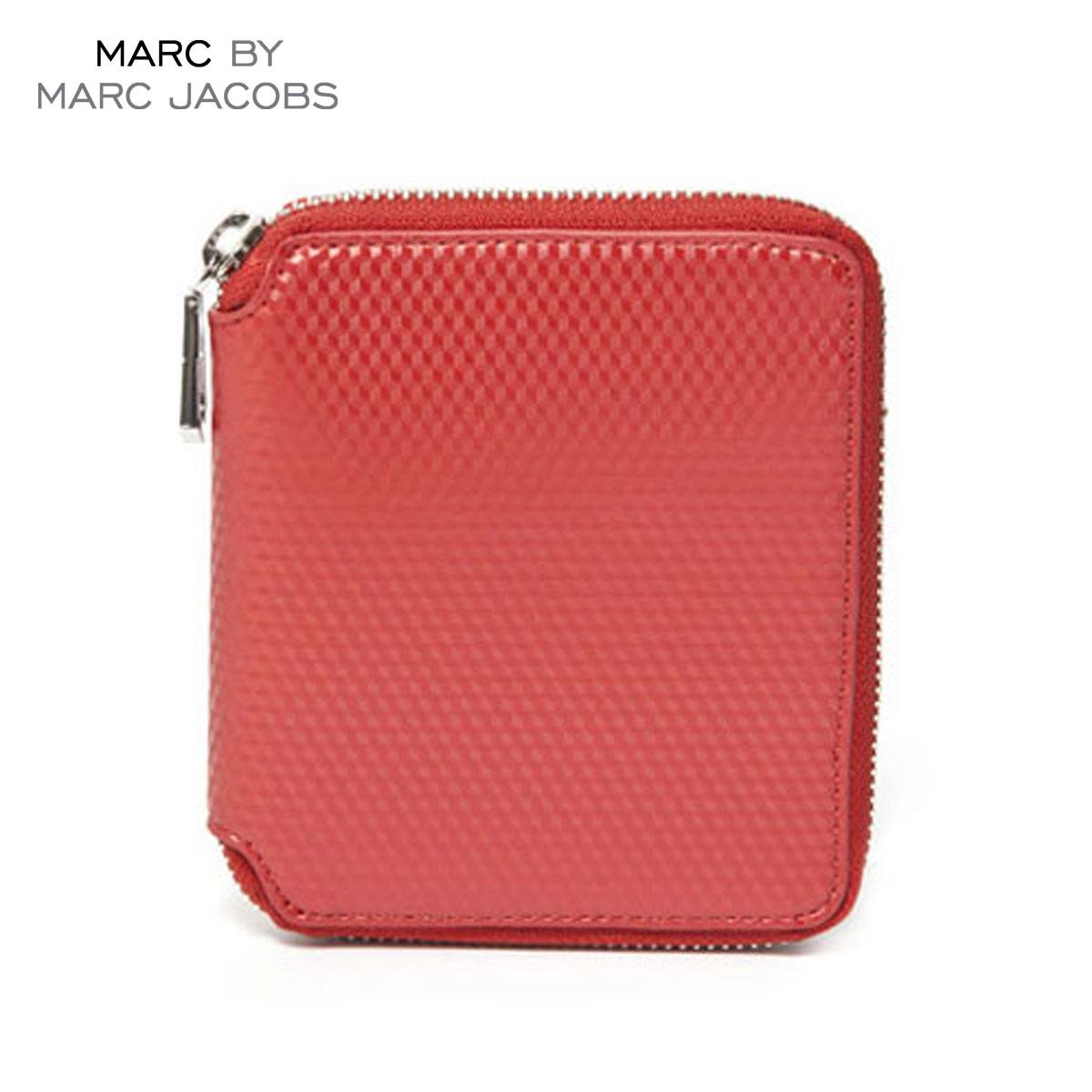 【ポイント10倍 6/4 20:00~6/11 01:59まで】 マークジェイコブス MARCJACOBS 正規品 財布 Cube Zip Wallet 4.5 x5.125 D20S30 父の日