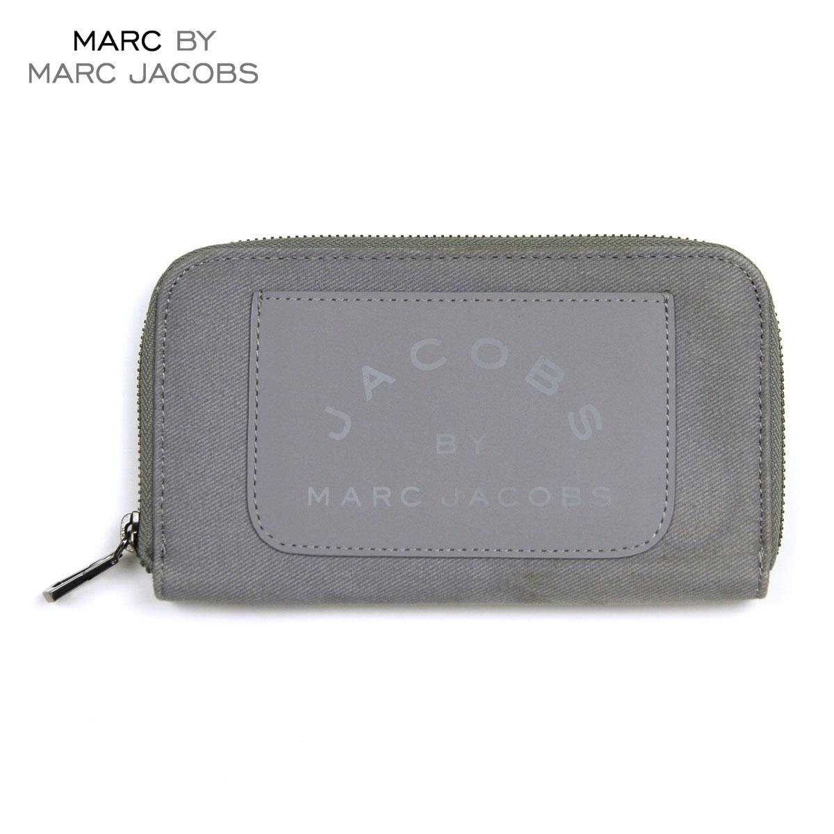 【販売期間 4/2 10:00~4/8 09:59】 マークジェイコブス MARCJACOBS 正規品 財布 Laminated Twill Jacobs Long Zip Wallet (W19*H11cm) D20S30