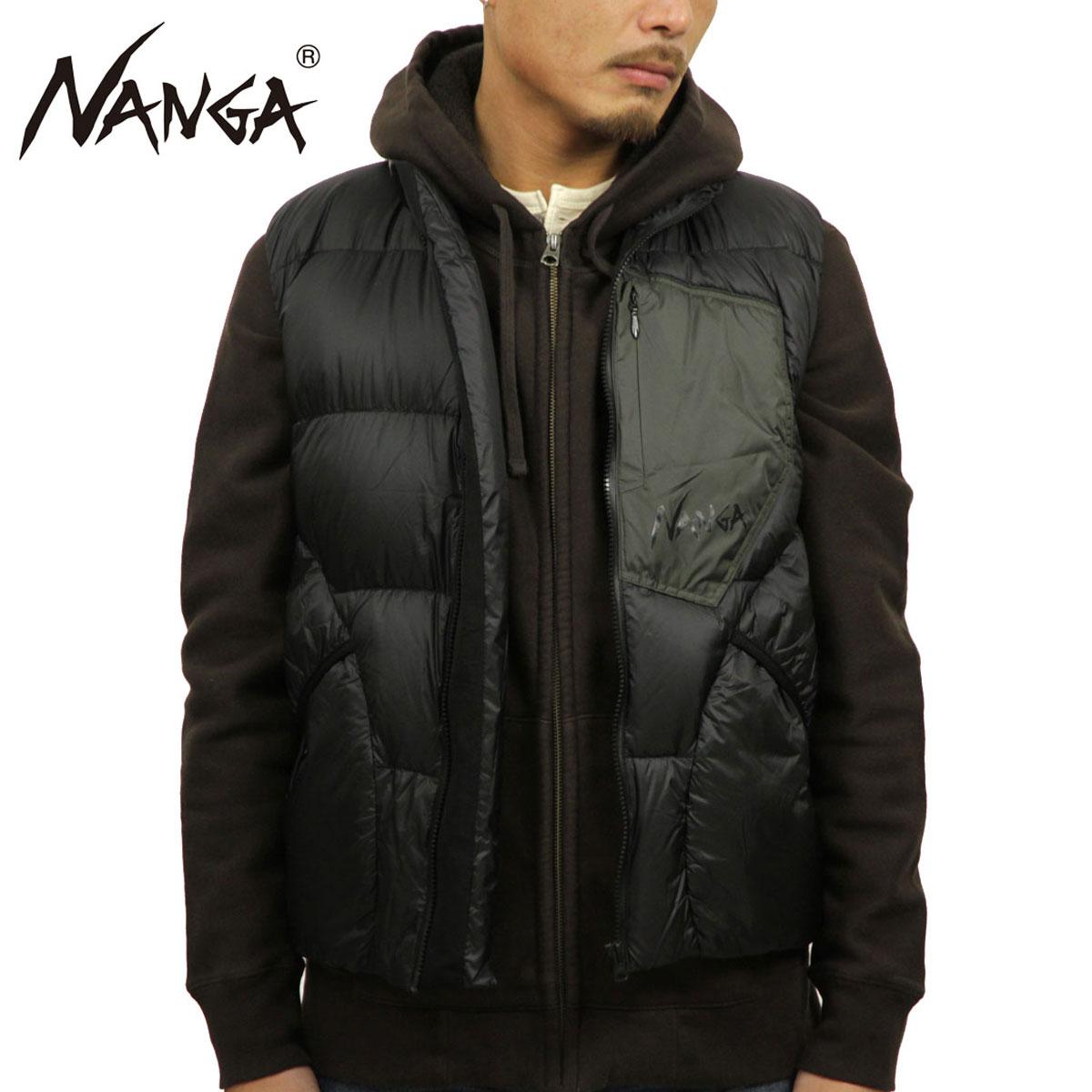 【ポイント10倍 10/4 20:00~10/11 01:59まで】 ナンガ NANGA 正規販売店 メンズ アウター ダウンジャケット MAZENO RIDGE VEST BLACK