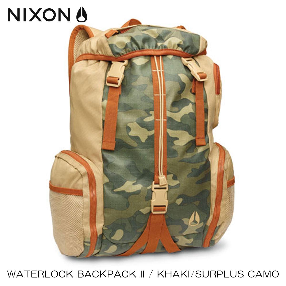 ニクソン NIXON 正規販売店 バッグ Waterlock Backpack II KHAKI NC19521714-00 D15S25