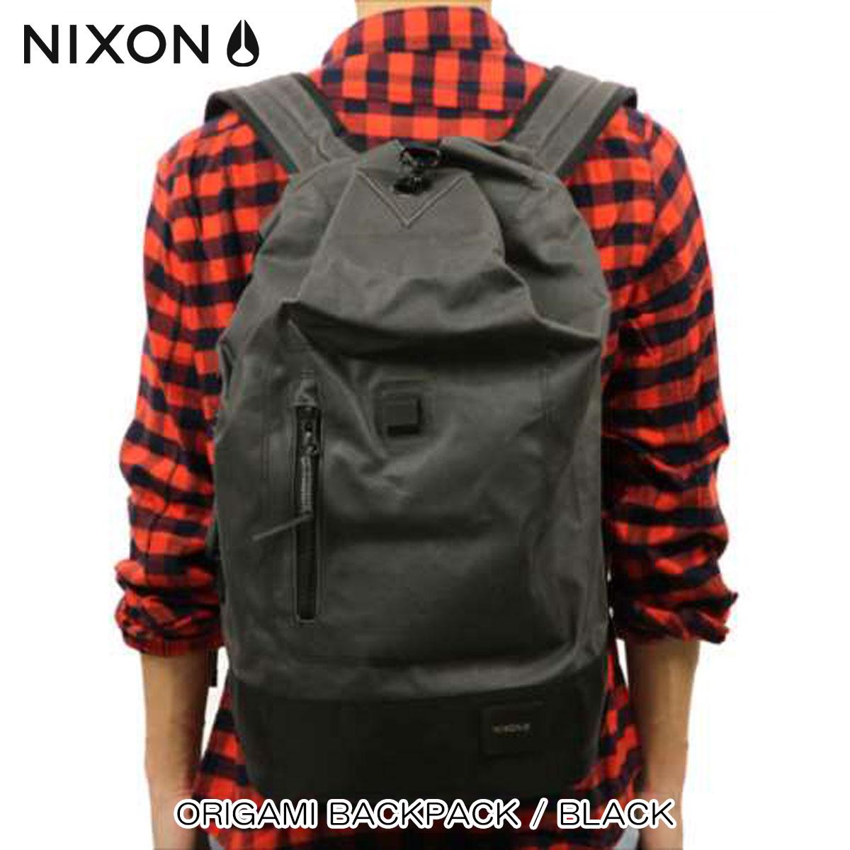 ニクソン NIXON 正規販売店 バッグ Origami Backpack BLACK NC2184000-00 D00S20