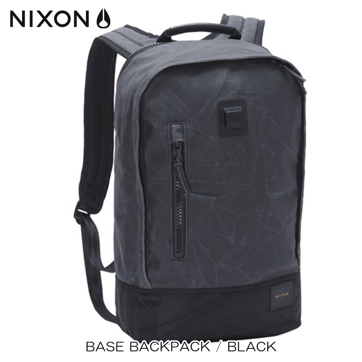 30%OFFセール 【販売期間 6/4 20:00~6/11 01:59】 ニクソン NIXON 正規販売店 バッグ Base Backpack BLACK NC2185000-00 D15S25 父の日