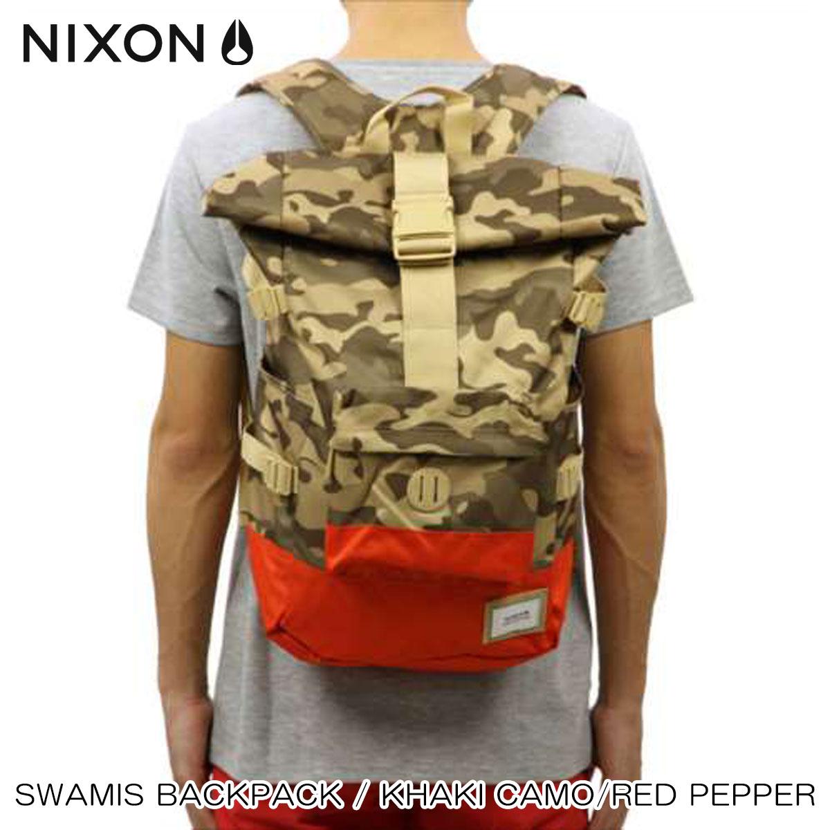 【ポイント10倍 6/4 20:00~6/11 01:59まで】 ニクソン NIXON 正規販売店 バッグ Swamis Backpack KHAKI NC21871717-00 D15S25 父の日