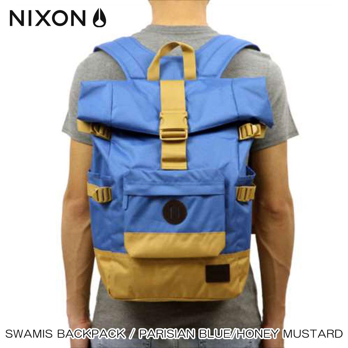 【ポイント10倍 9/4 20:00~9/11 01:59まで】 ニクソン NIXON 正規販売店 バッグ Swamis Backpack Parisian Blue / Honey Mustard BLUE 敬老の日 プレゼント