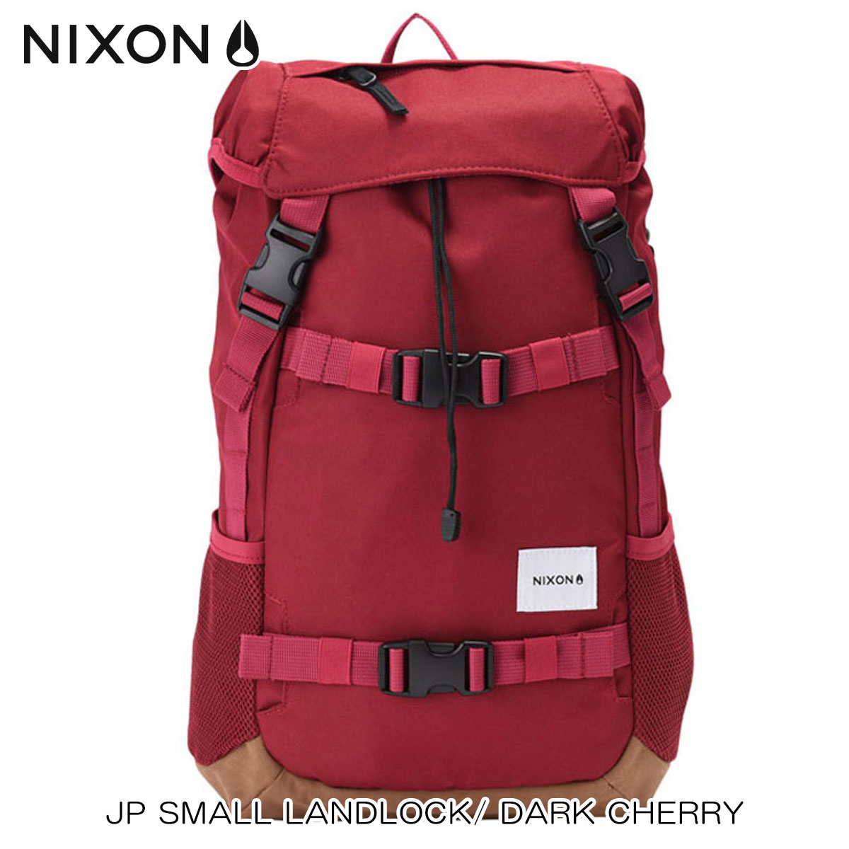 ニクソン NIXON 正規販売店 バッグ JP SMALL LANDLOCK/ DARK CHERRY NC22562329-00 D00S20