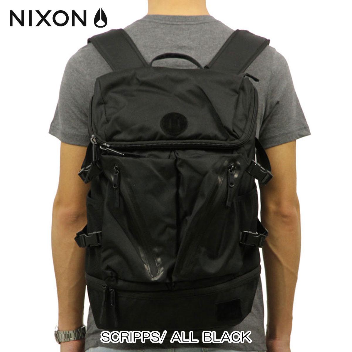 ニクソン NIXON 正規販売店 バッグ SCRIPPS/ ALL BLACK NC2605001-00 D00S20