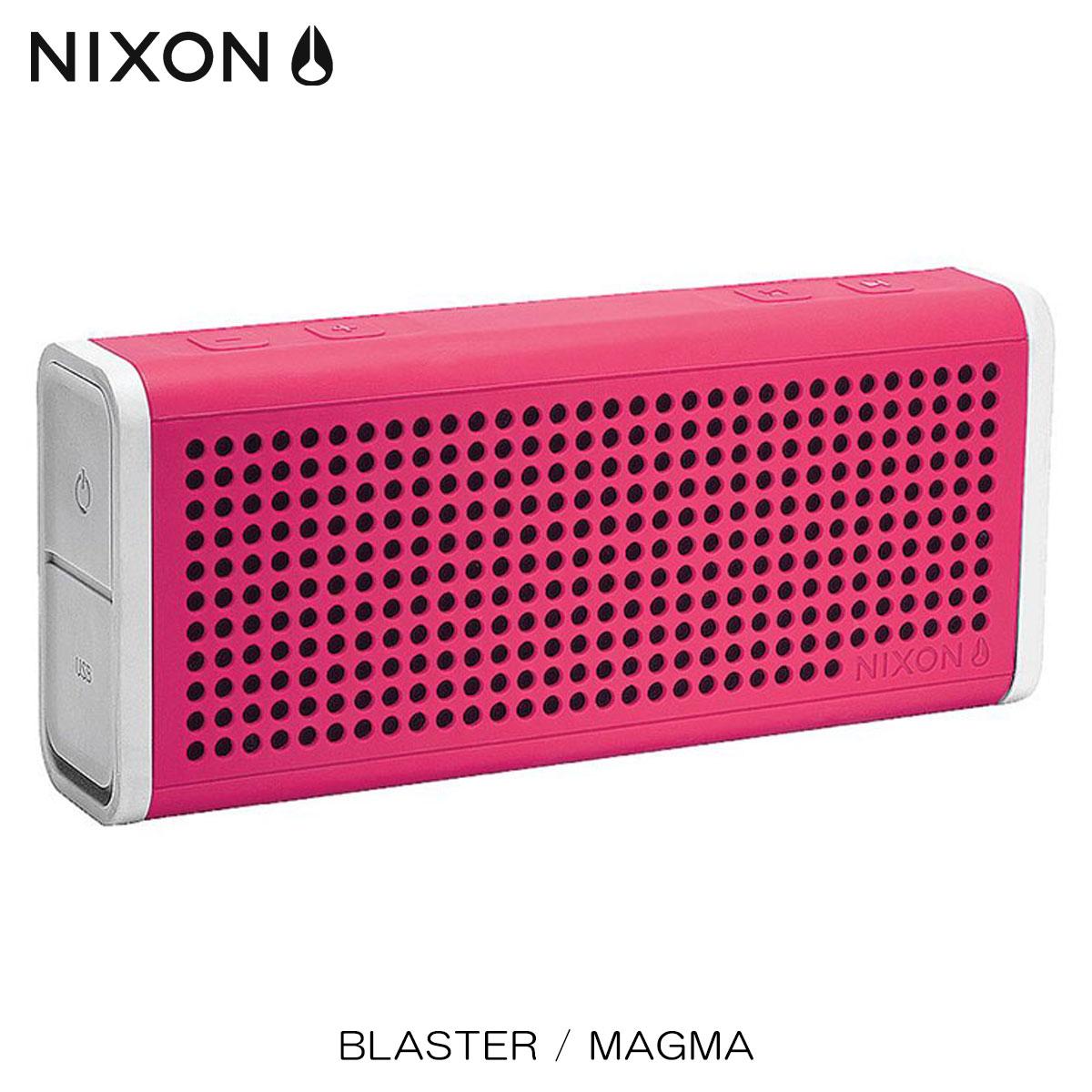 ニクソン NIXON 正規販売店 スピーカー BLASTER / MAGMA NH0281810-00 D00S20