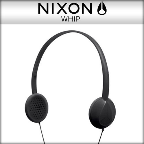Nixon NIXON genuine headphones 2 year warranty WHIP-whip BLACK: black 10P21Feb15