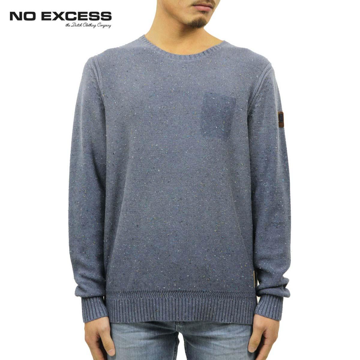 ノーエクセス NO EXCESS 正規販売店 メンズ セーター Crew Neck Spray Effect Sweater D15S25