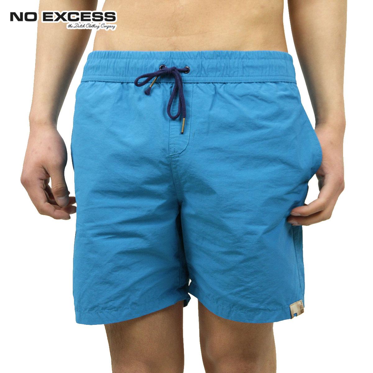 ノーエクセス NO EXCESS 正規販売店 メンズ スイムパンツ Swimshort, solid cotton nylon 740301 36