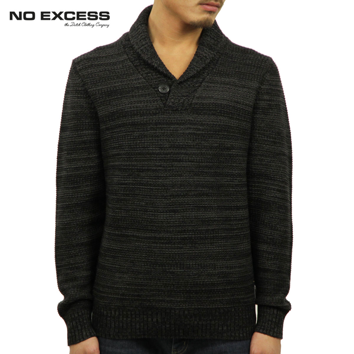 ノーエクセス NO EXCESS 正規品 メンズ セーター Big Shawl Collar Pullover Sweater230913020 D00S20
