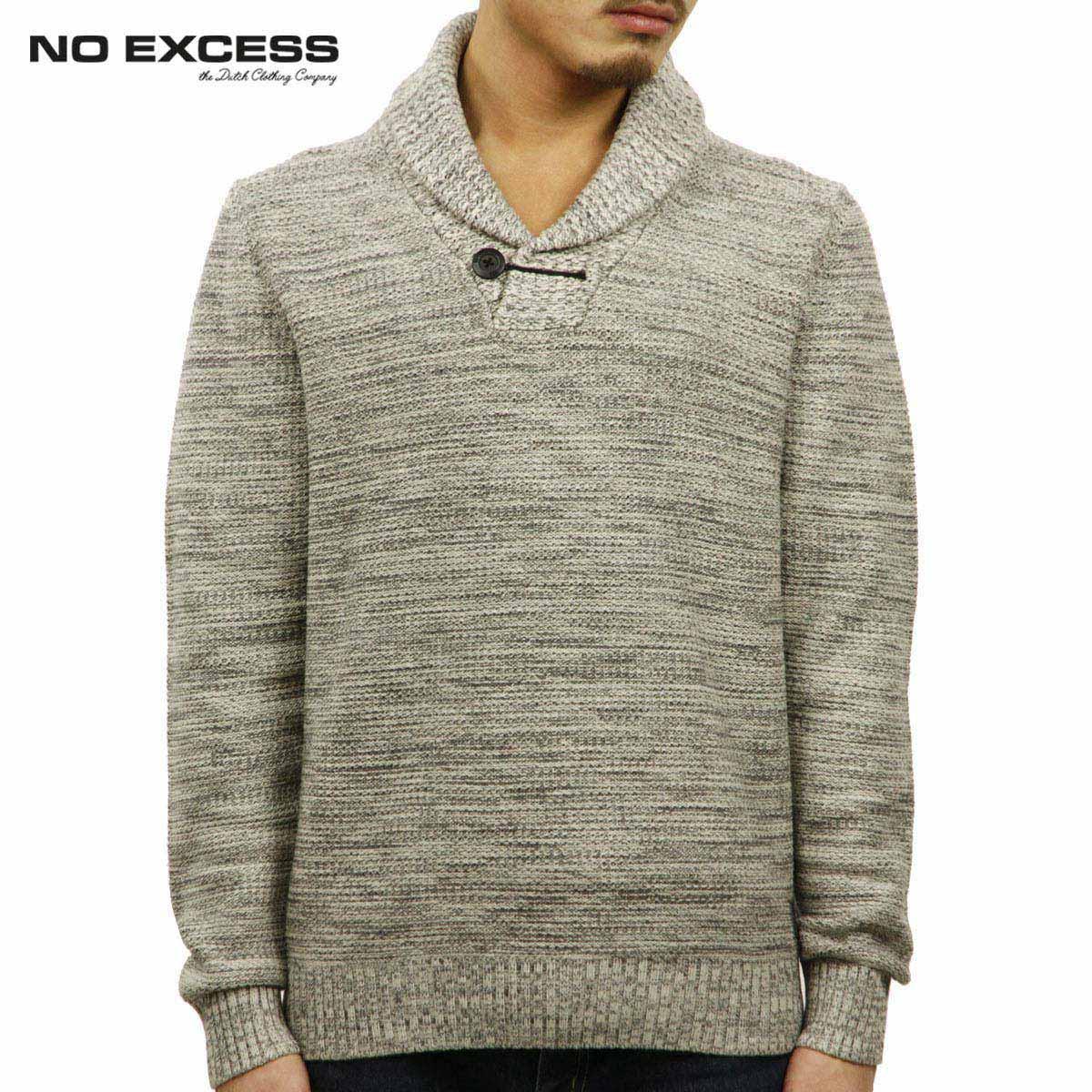 ノーエクセス NO EXCESS 正規品 メンズ セーター Big Shawl Collar Pullover Sweater230913013 D00S20