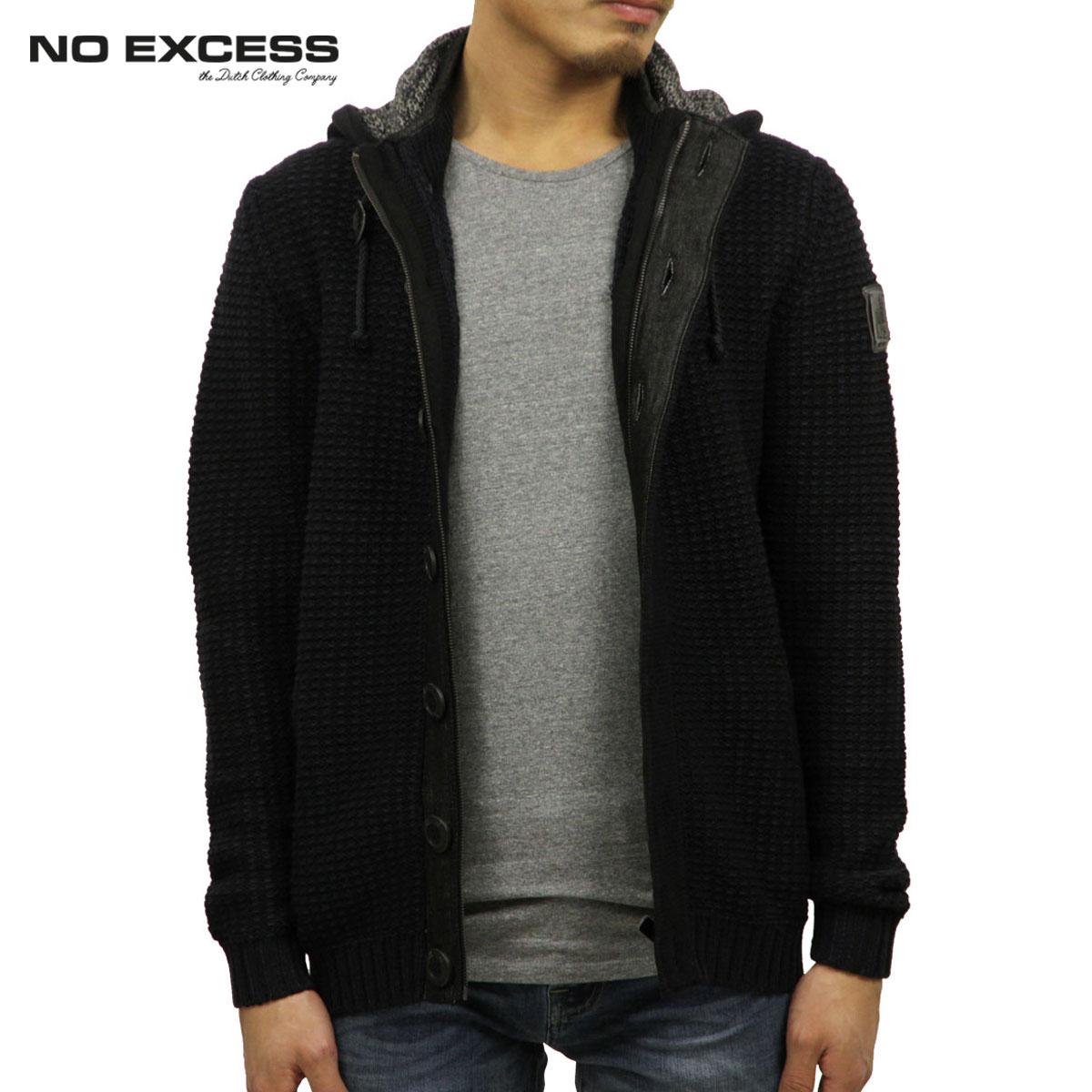 ノーエクセス NO EXCESS 正規品 メンズ カーディガン Pullover Hooded Cardigan230940020 D00S20