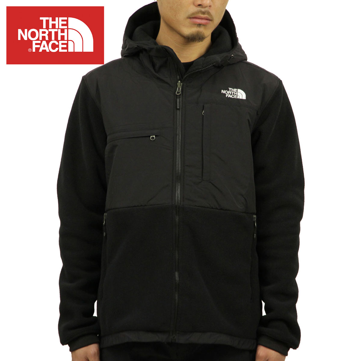 06a39b2e3c709 North Face THE NORTH FACE regular article men fleece jacket DENALI 2 FLEECE  HOODIE JACKET RECYCLED TNF BLACK NF0A2TBN LE4