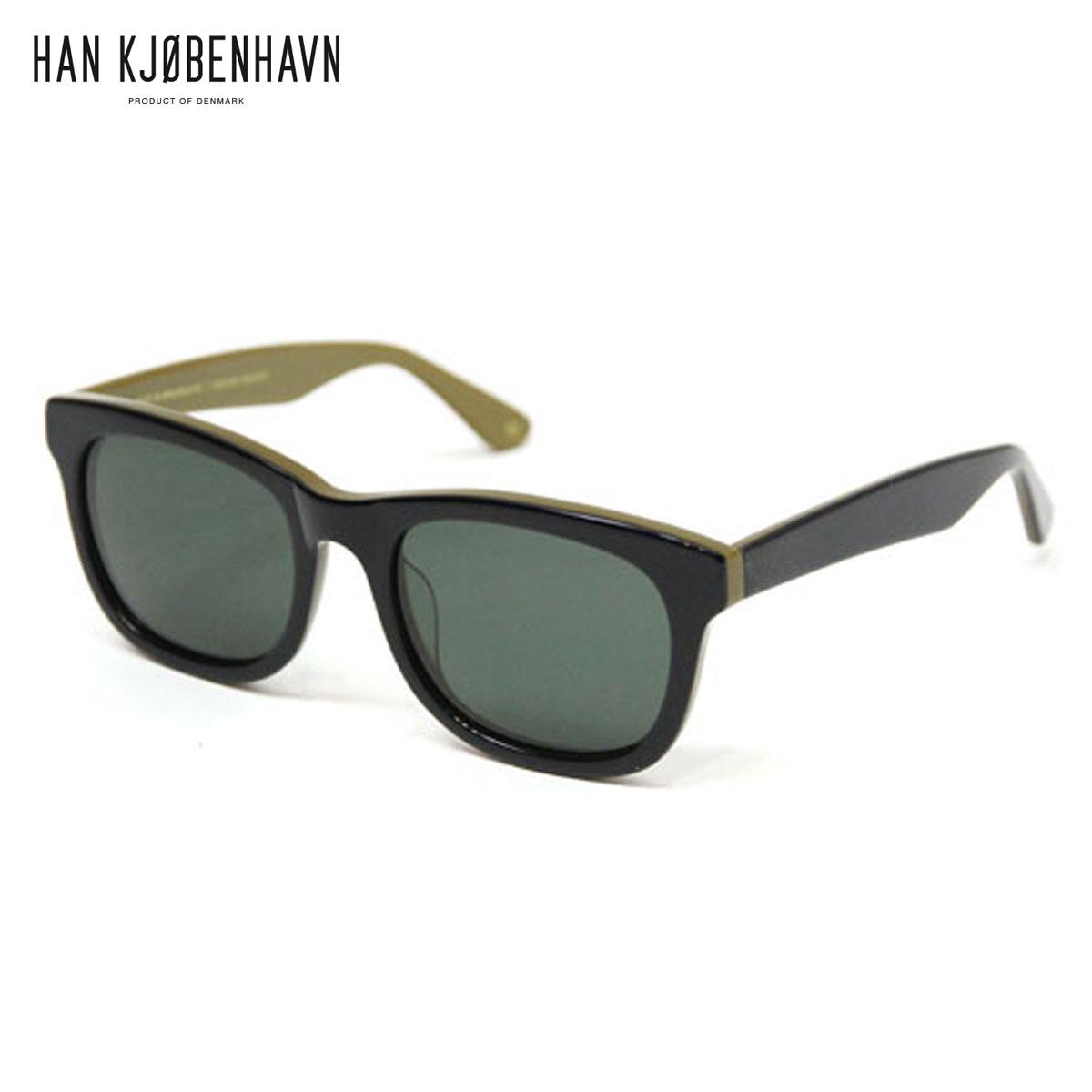 ハン HAN KJOBENHAVN 正規販売店 サングラス WOLFGANG LIQUORICE - SUN D00S15