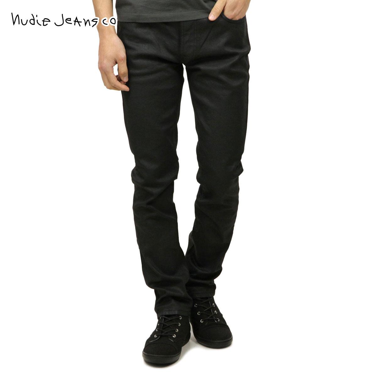 ヌーディージーンズ Nudie Jeans 正規販売店 メンズ ジーンズ ヌーディージーンズ Thin Finn 254 1115550 1067 Back 2 Black D15S25