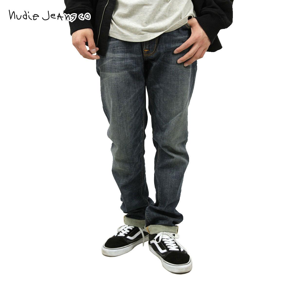 【販売期間 11/12 10:00~11/21 09:59】 ヌーディージーンズ Nudie Jeans 正規販売店 メンズ ジーンズ Thin Finn Dusk Indigo 305 1116440 D15S25