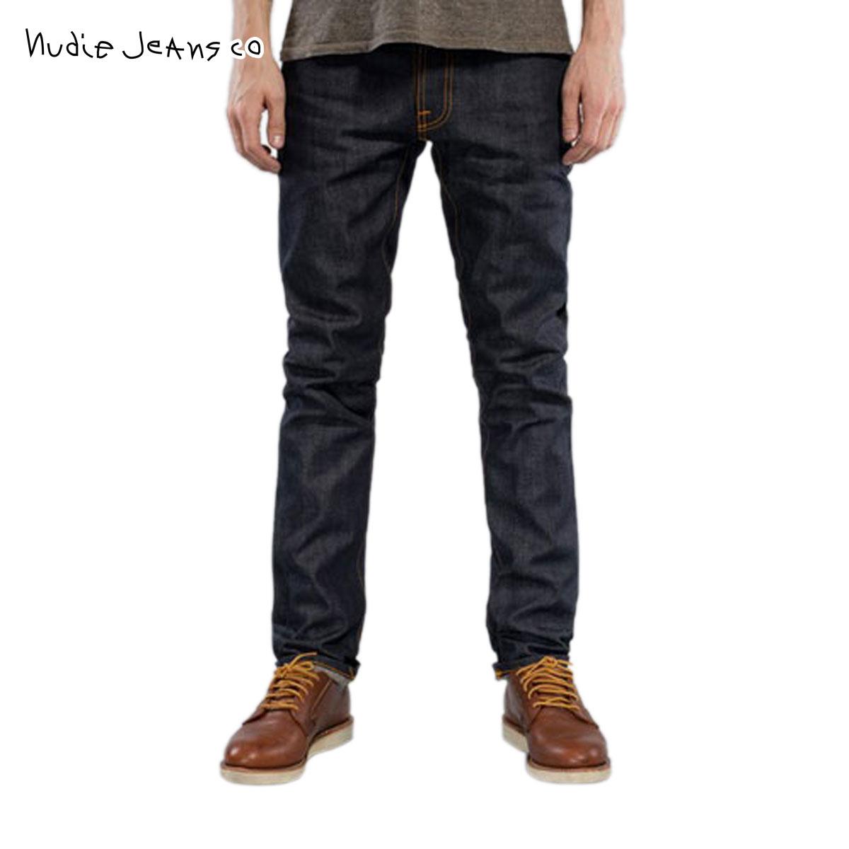 Nudie jeans Nudie Jeans men s jeans Thin Finn 011 1114890 1053 Dry Selvage f773bd6245c3