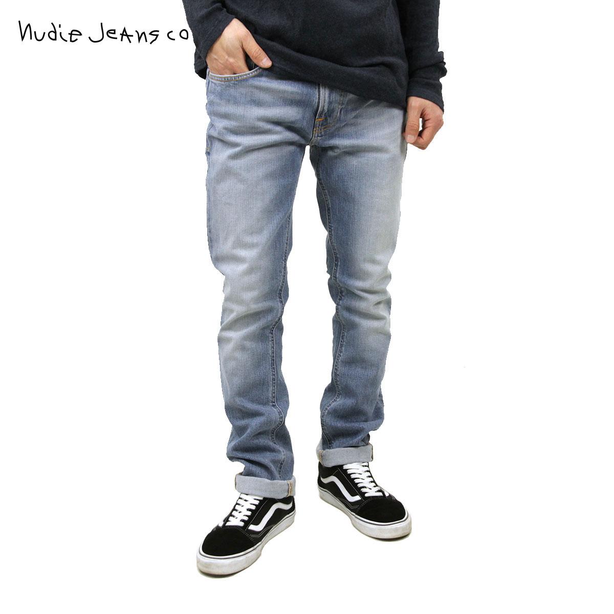 【販売期間 11/12 10:00~11/21 09:59】 ヌーディージーンズ Nudie Jeans 正規販売店 メンズ ジーンズ Tape Ted 420 1117340 1185 Indigo Blench D15S25