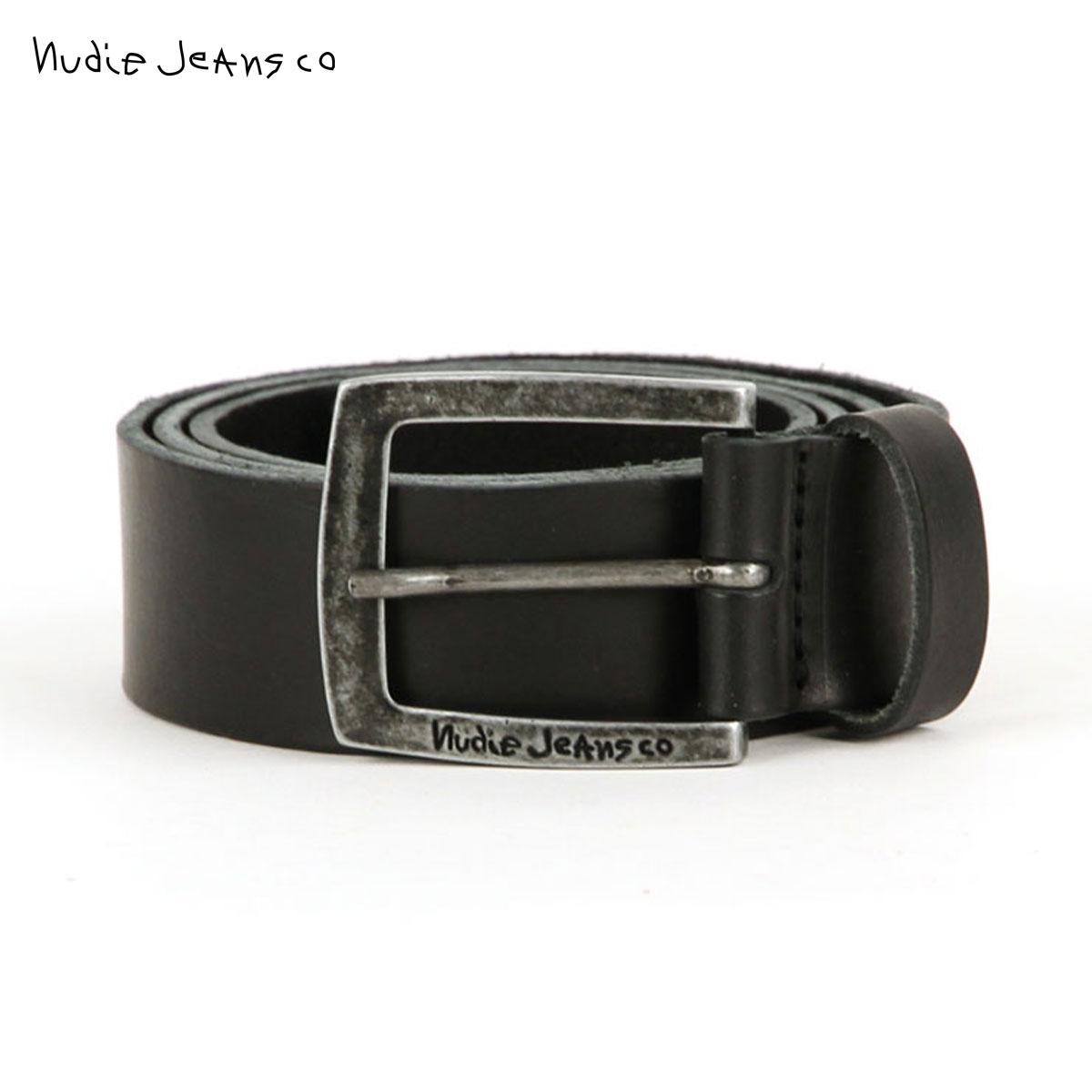 ヌーディージーンズ Nudie Jeans 正規販売店 メンズ ベルト ANTONSSON VINTAGE BELT BLACK B01 180639