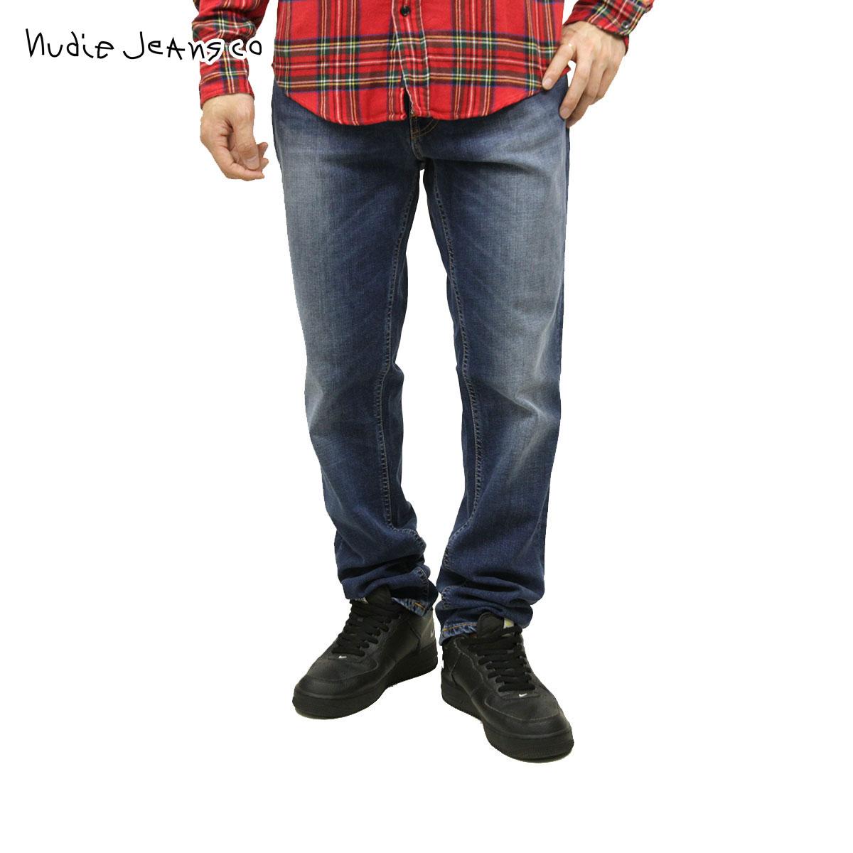 【販売期間 11/12 10:00~11/21 09:59】 ヌーディージーンズ Nudie Jeans 正規販売店 メンズ ジーンズ ヌーディージーンズ Lean Dean Bay Blue 471 1118220 D15S25