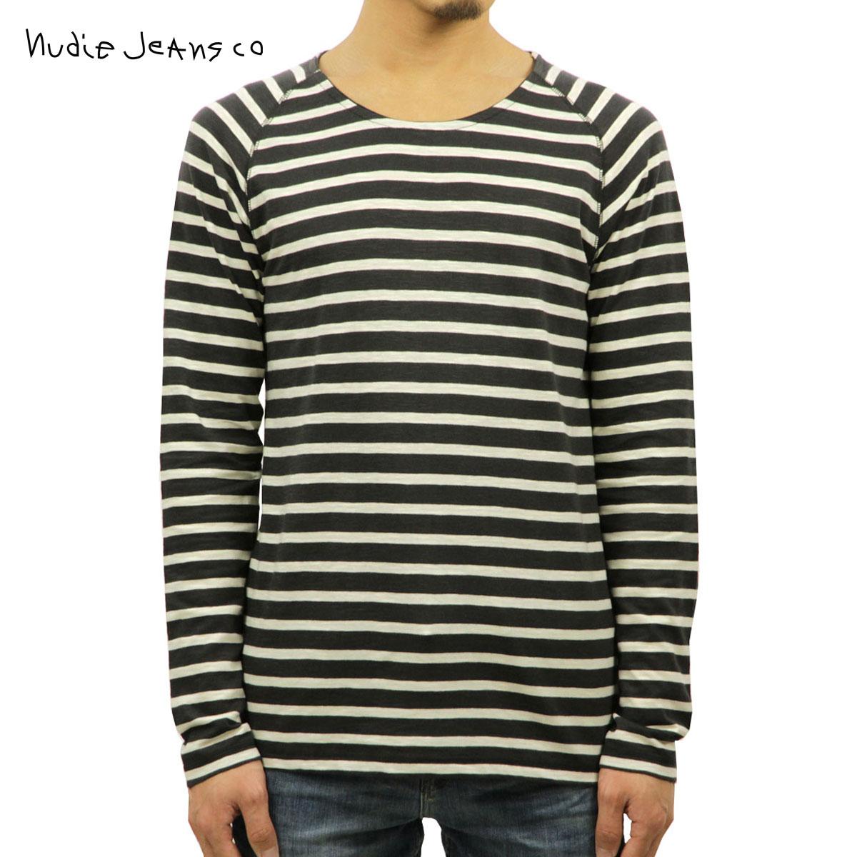 【販売期間 5/20 10:00~5/30 09:59】 ヌーディージーンズ Nudie Jeans 正規販売店 メンズ 長袖Tシャツ Otto Raglan 131395 4034 Grey D15S25