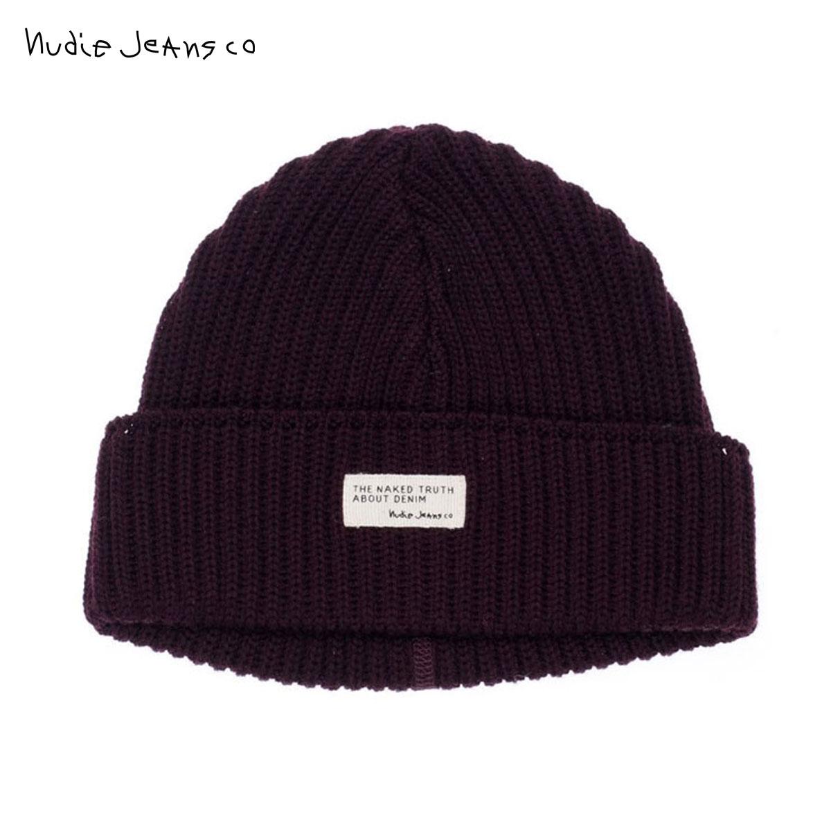 Nudie jeans Nudie Jeans Hat knit Cap Nicholson Beanie 180576 7060 Wine  P14Nov15 3a77fc3da3e