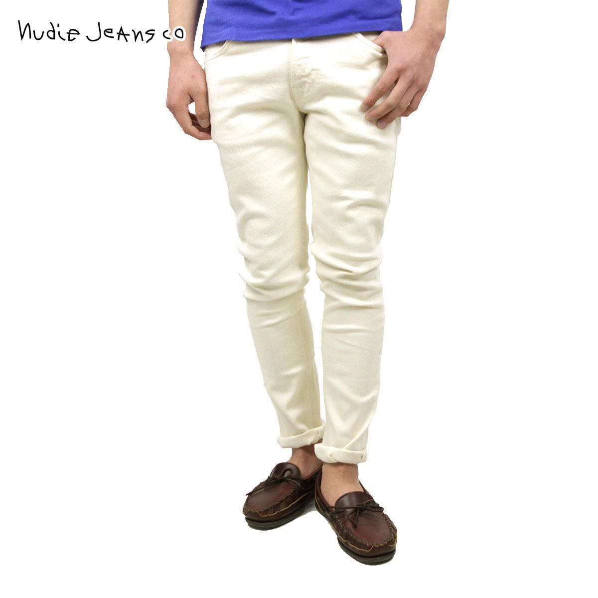 ヌーディージーンズ Nudie Jeans 正規販売店 メンズ ジーンズ Lean Dean Ecru Twill 614 1120630