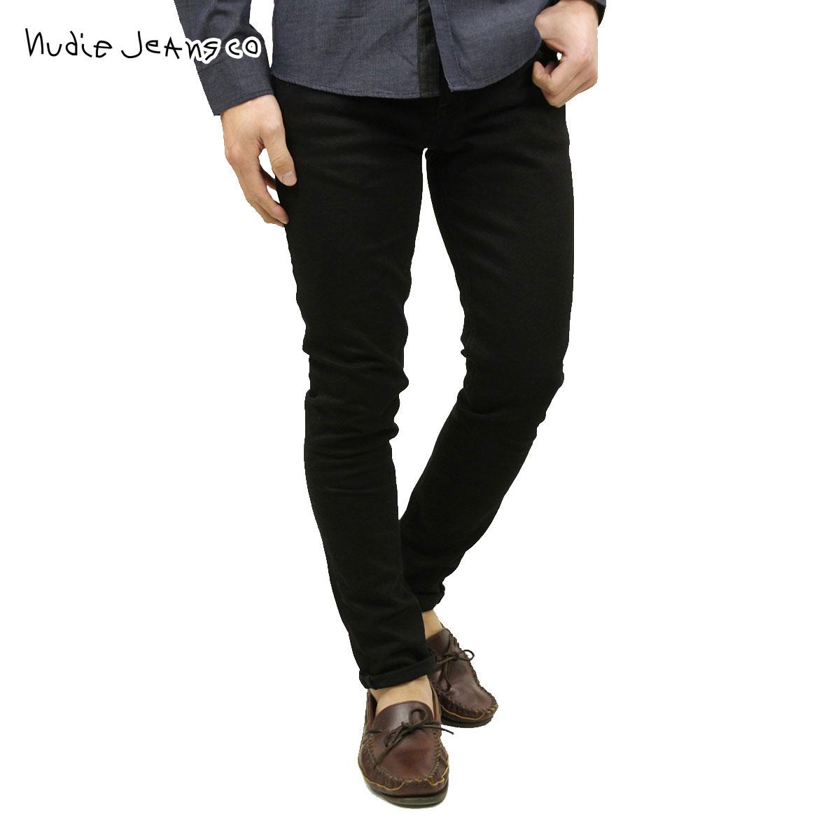 ヌーディージーンズ Nudie Jeans 正規販売店 メンズ ジーンズ Skinny Lin 992 Black Black 111539 D00S20