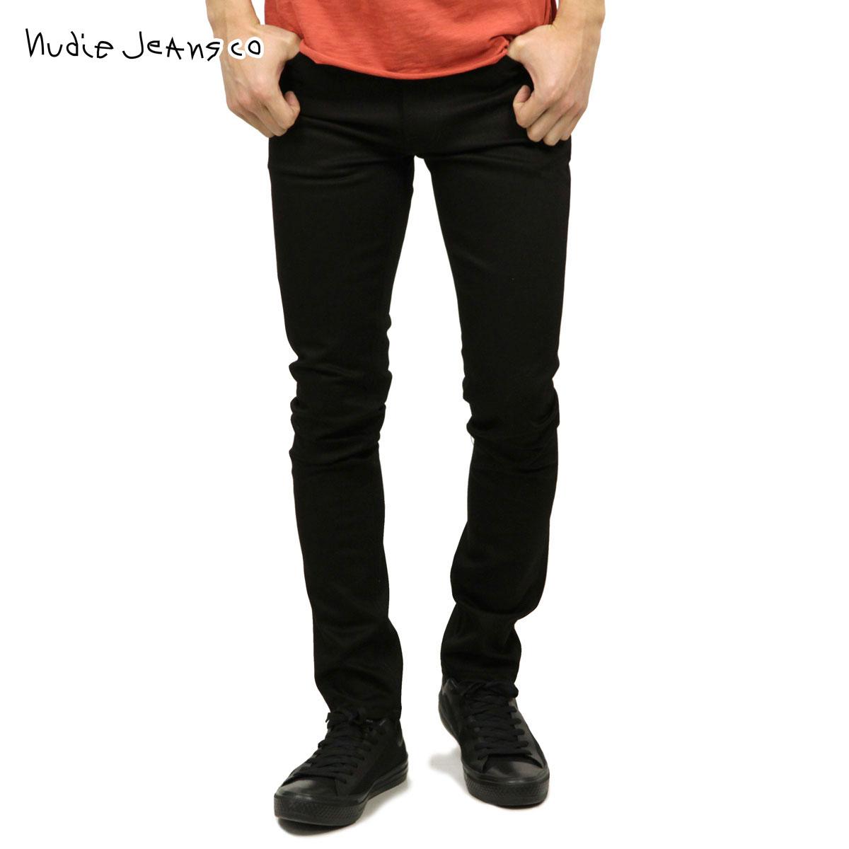 d07d3392f19 Nudie jeans Nudie Jeans regular store men jeans Lean Dean 470 Dry Cold Black  111821 D00S20 ...