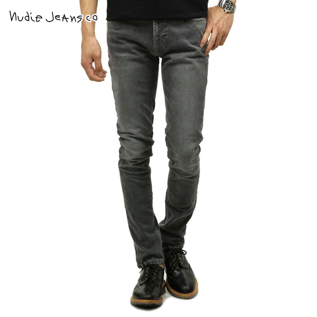 ヌーディージーンズ Nudie Jeans 正規販売店 メンズ ジーンズ Lean Dean 693 Grey Hunt 112264 D00S20