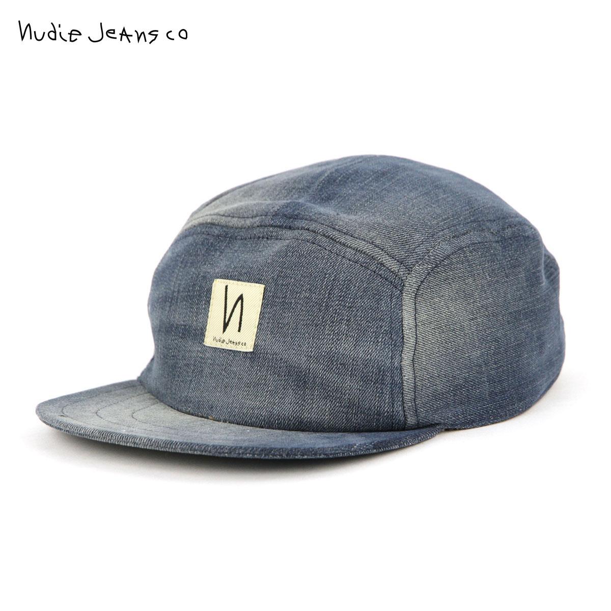 【ポイント10倍 6/4 20:00~6/11 01:59まで】 ヌーディージーンズ Nudie Jeans 正規販売店 帽子 キャップ LARSSON CAP DENIM B26 180802 父の日