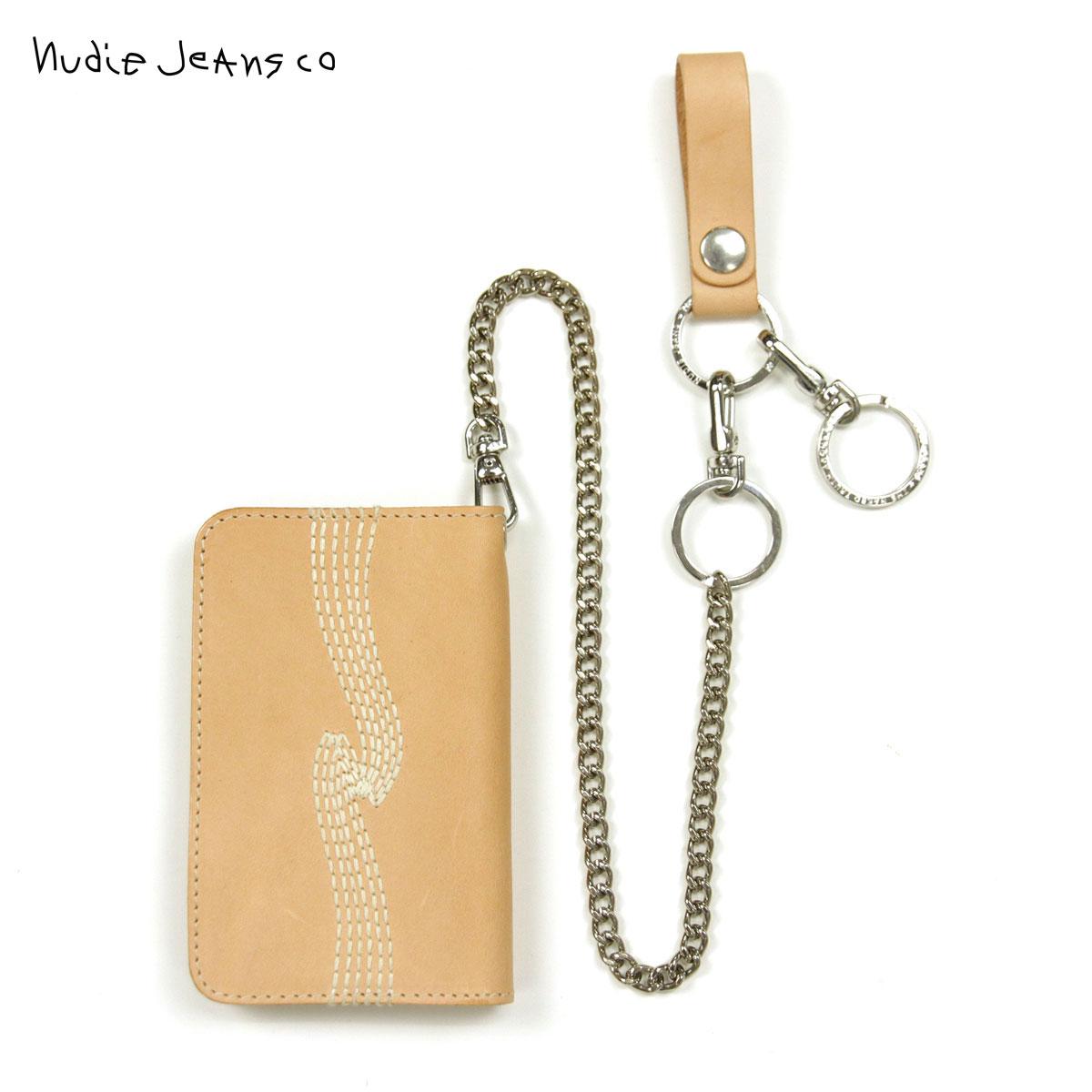 ヌーディージーンズ Nudie Jeans 正規販売店 メンズ 財布 Alfredsson B12 Natural 180647 D00S20