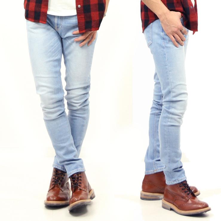 1b471647c31b Nudie jeans Nudie Jeans regular store men jeans SKINNY LIN FRESH BREEZE 735  1123970